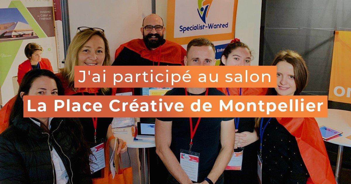 """Featured image for """"J'ai participé au salon La Place Créative de Montpellier"""""""