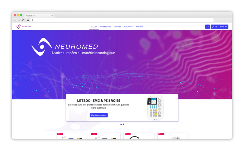 Neuromed Site Web Mon Consultant Marketing