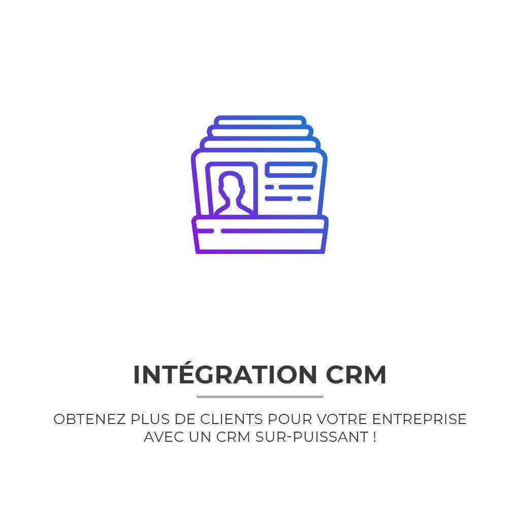 Intégration Crm Sur Site Internet