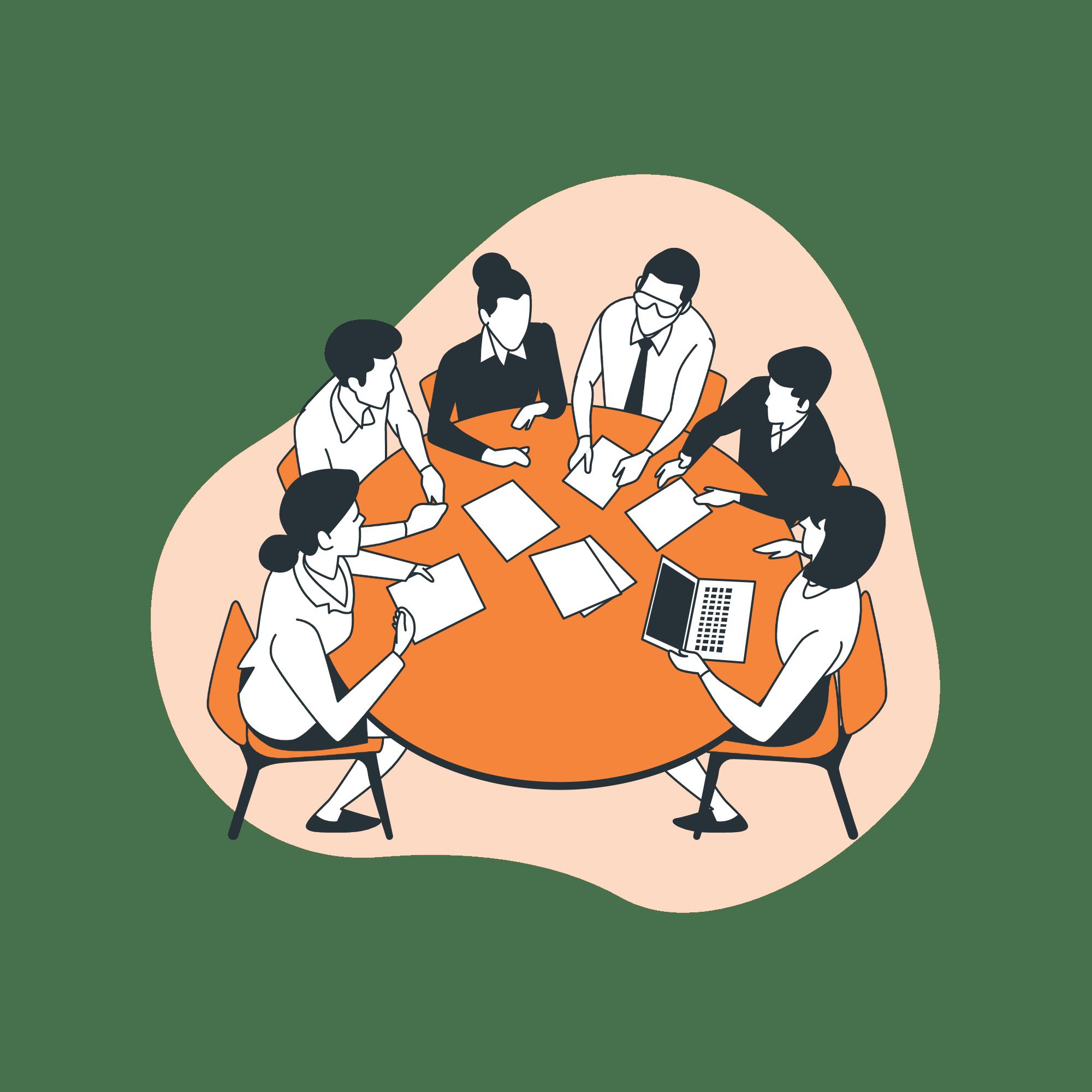 réunion conseil en marketing pour les pros